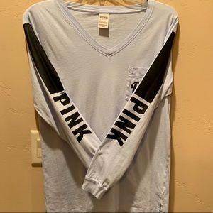 VS Pink long sleeve tee shirt
